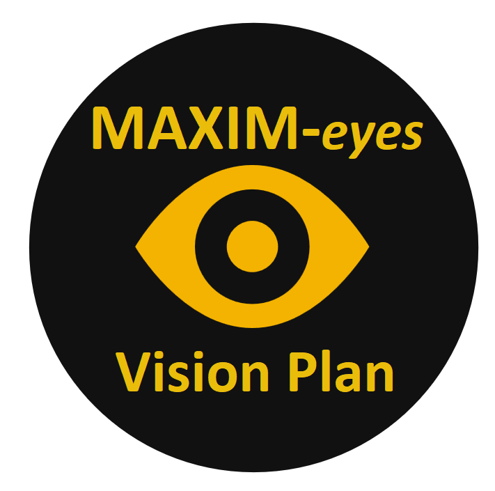 Maxim eyes Vision Plan Logo